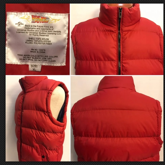 Universal Other - Universal Studios Back To The Future Puffer Vest